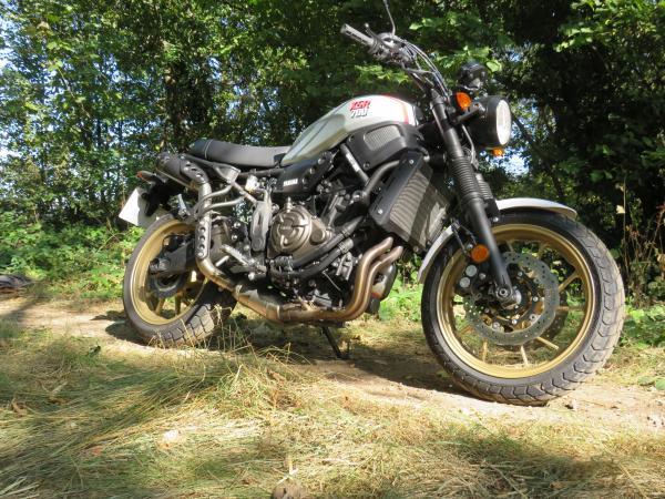 Yamaha XSR700 XTribute (2019) Review