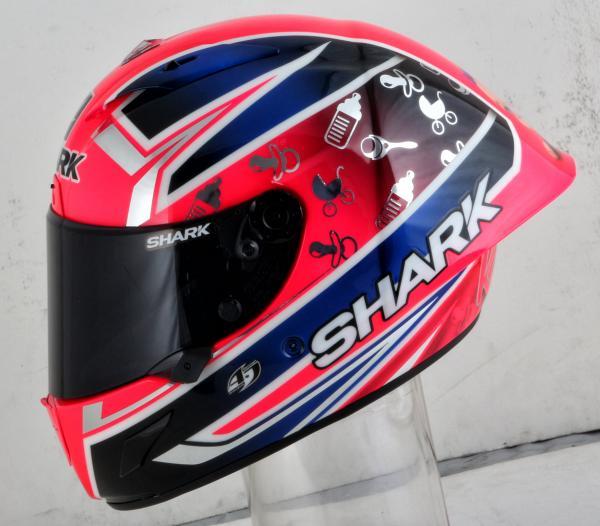 Sam Lowes baby helmet