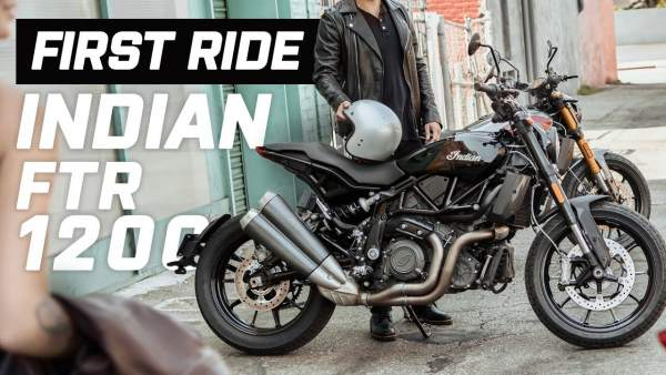 Indian FTR1200 first impression