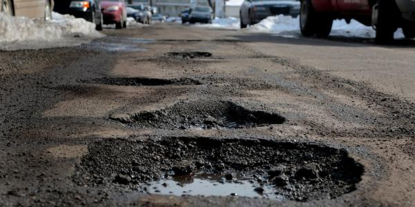 Winter is coming… and that means potholes are too