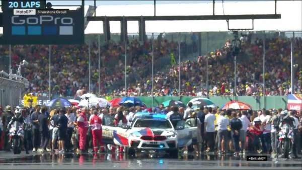 Silverstone starting grid