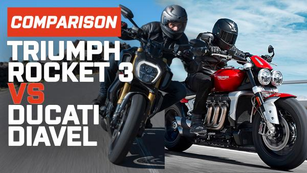 Power Cruiser Head to Head: Triumph Rocket 3 vs Ducati Diavel 1260 S
