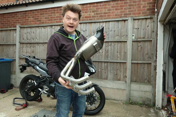 Yamaha Tracer Akrapovic exhaust