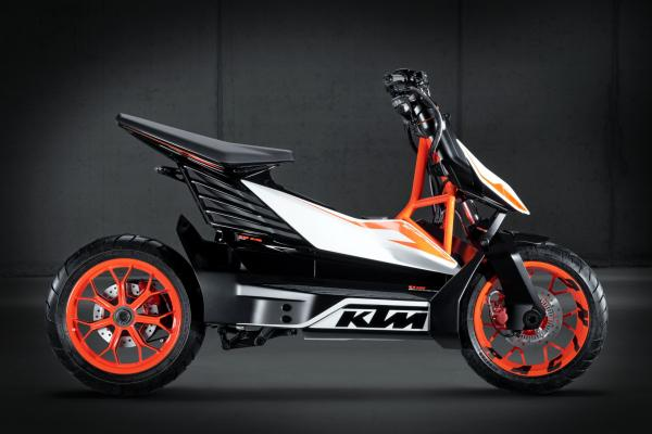 KTM's concept electric scooter | Visordown