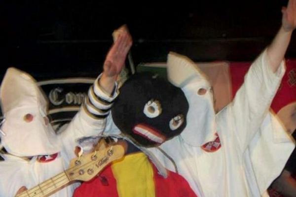 Neo-Nazi jailed over mock Ku Klux Klan lynching at moto      Visordown