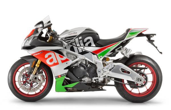Aprilia unveils updated RSV4 RR and RF