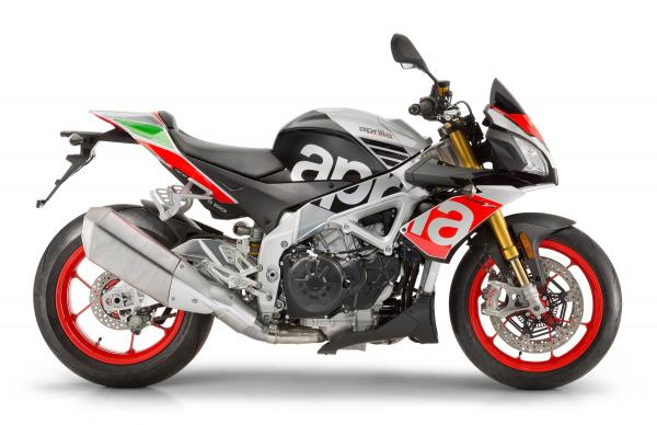 Aprilia Tuono V4 1100 RR and Factory updated for 2017