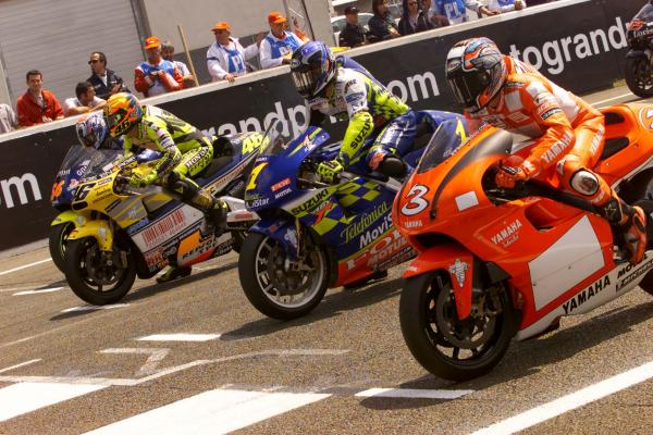 500cc MotoGP Nakano Biaggi Rossi