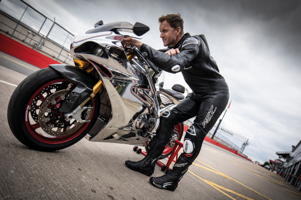 RST airbag motorcycle leathers