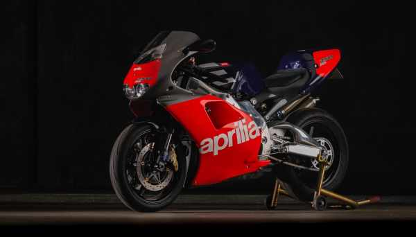 Aprilia RS 250 Loris Reggiani Racing replica [credit: Bring A Trailer]