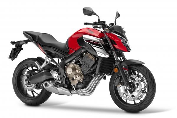 Updated Honda CB650F revealed