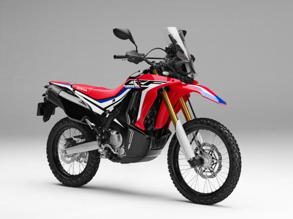 The Honda CRF250 Rally is here