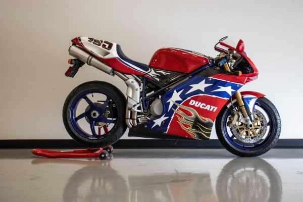 2002 Ben Bostrom Ducati 998S [credit: Bring A Trailer]