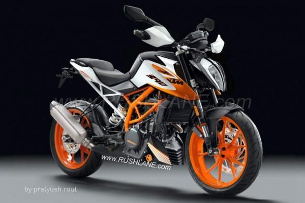 New KTM 390 Duke renderings