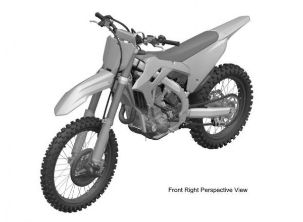2020 honda crf450r patent images