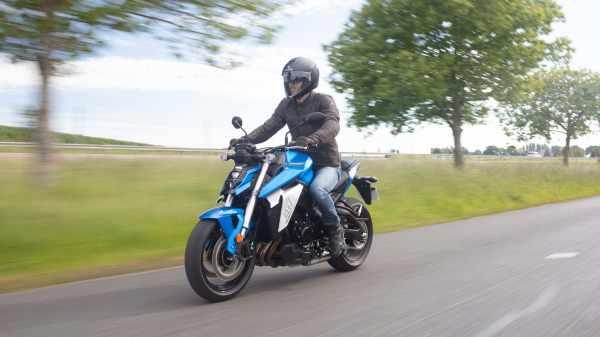 2021 Suzuki GSX-S950 A2 motorcycle