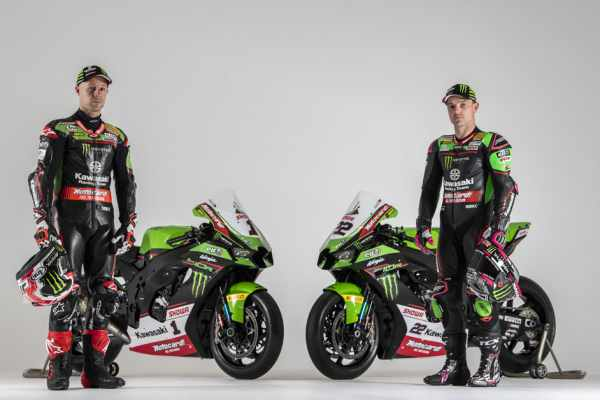 Kawasaki launch their 2021 WorldSBK livery with Jonathan Rea and Alex Lowes