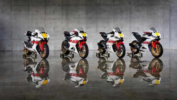 Yamaha 60th Anniversary livery for 2022 motorcycles