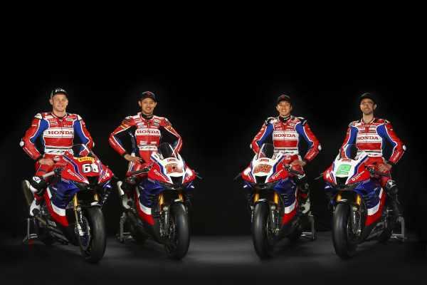 Honda Racing 2021 BSB - Mizuno, Irwin, Takahashi
