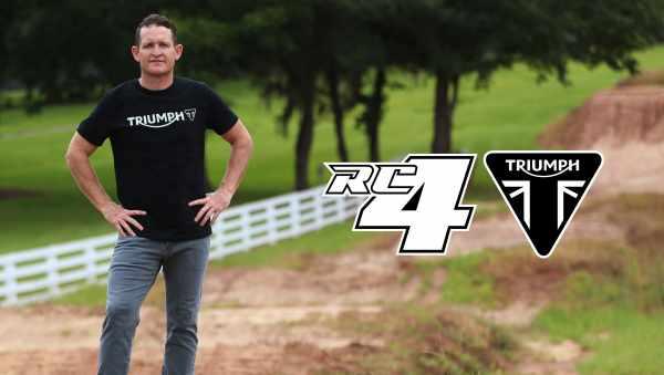 Triumph Motocross and Enduro - Ricky Carmichael
