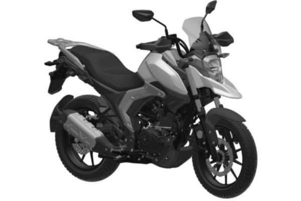Haojue ADV bike