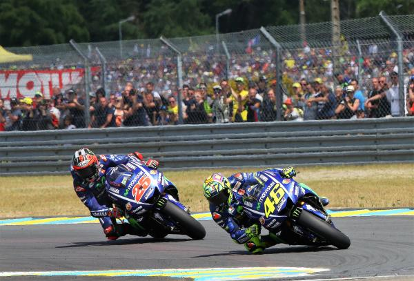 Rossi vs Vinales for third in championship
