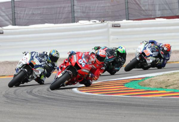 MotoGP riders wary of Sachsenring grid penalties after FP2 incident