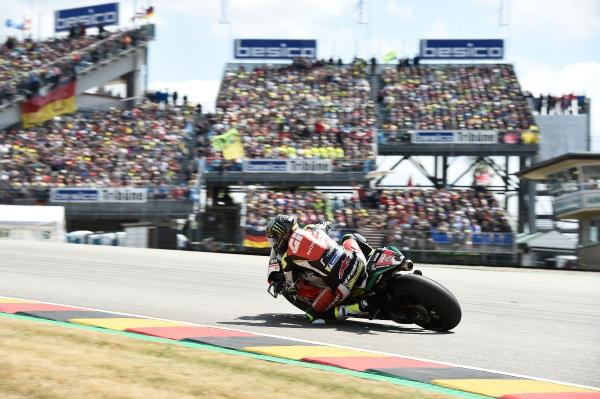 Cal Crutchlow at the Sachsenring