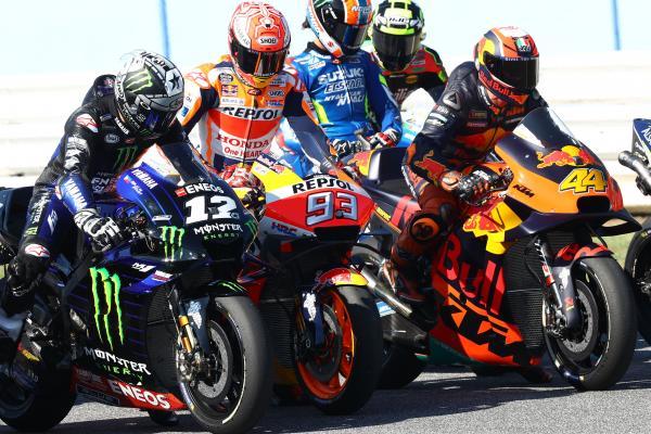 MotoGP Practice Start Group