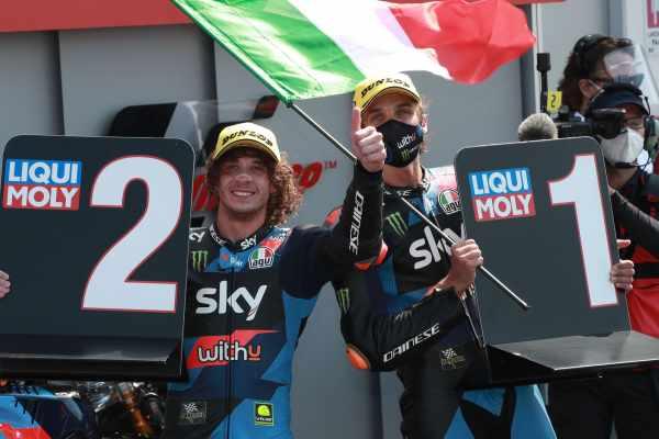 Marco Bezzecchi, Luca Marini - VR46 Racing Moto2