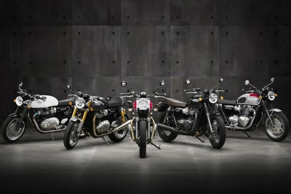 Triumph Street Cup and Bonneville T100 models planned