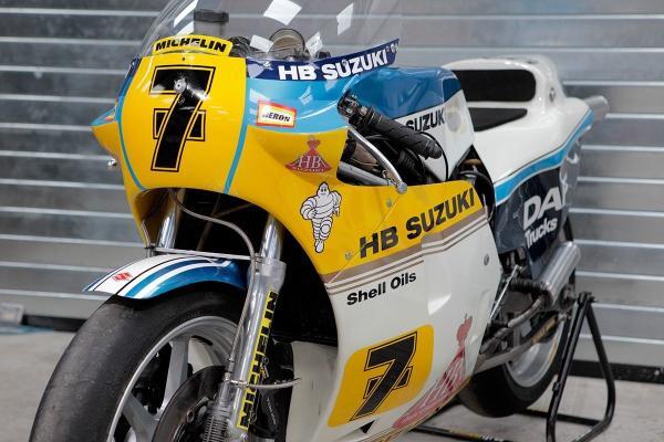 Ex-Barry Sheene Heron Suzuki RGB500 for sale on eBay
