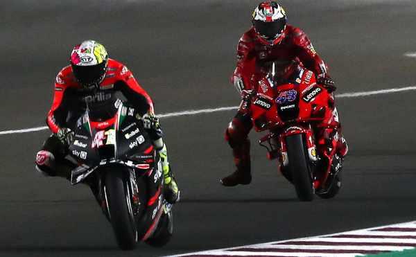 Aleix Espargaro, Jack Miller - Aprilia, Ducati, Gresini Racing
