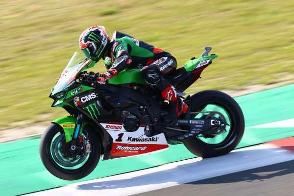 Jonathan Rea - Kawasaki Racing Team, WorldSBK, 2021, Assen