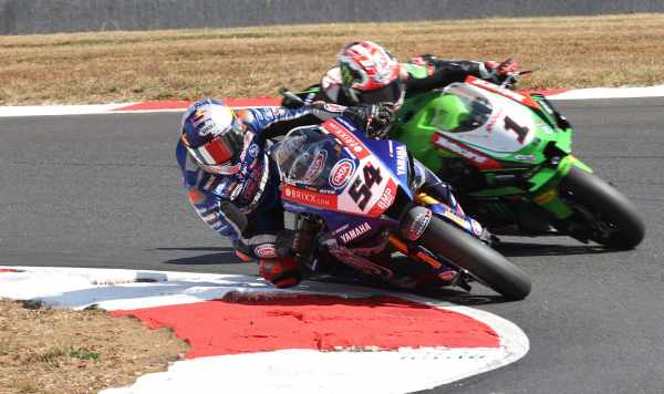 Toprak Razgatlioglu - Pata Yamaha, Jonathan Rea - Kawasaki