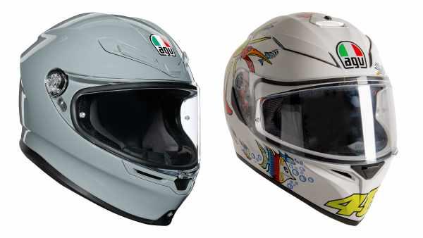 AGV K6 K3 SVS motorcycle helmet showcase