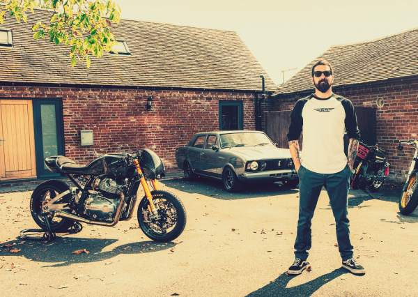 Anthony Partridge custom Royal Enfield Continental GT