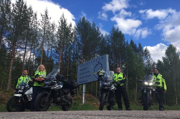 Caddy's Arctic Ride hits the Arctic Circle