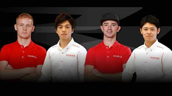 Honda Racing UK BSB 2021 Rider lineup