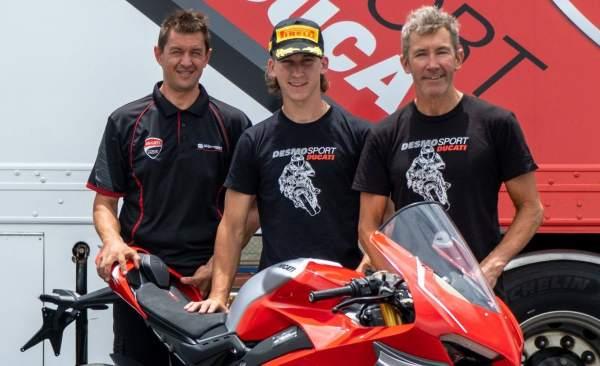Oli Bayliss, Troy Bayliss, Ducati, Australian Superbikes, Ducati Panigale V4 R