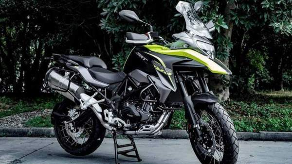 Benelli SRT500 adventure motorcycle