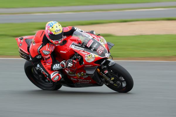 Brookes tops rain-hit Oulton Park test