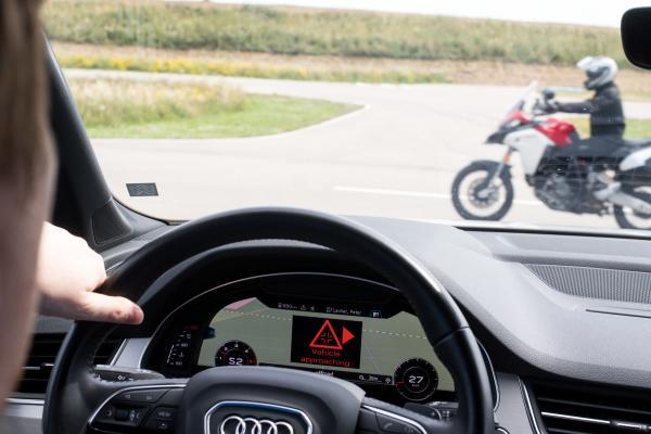 C-V2X direct communication interoperability demonstration Ducati
