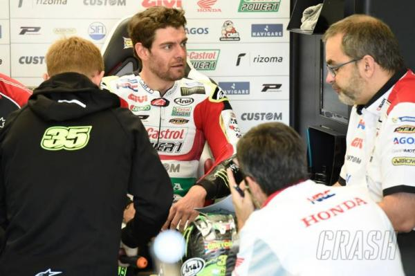 MotoGP: Crutchlow severs finger tendon in knife accident
