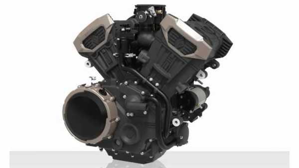 Chinese built V4 engine