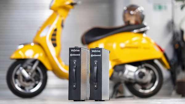 Continental Varta V4Drive electric motorcycle batteries