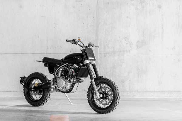 DAB Motors LMS 500 custom motorcycle
