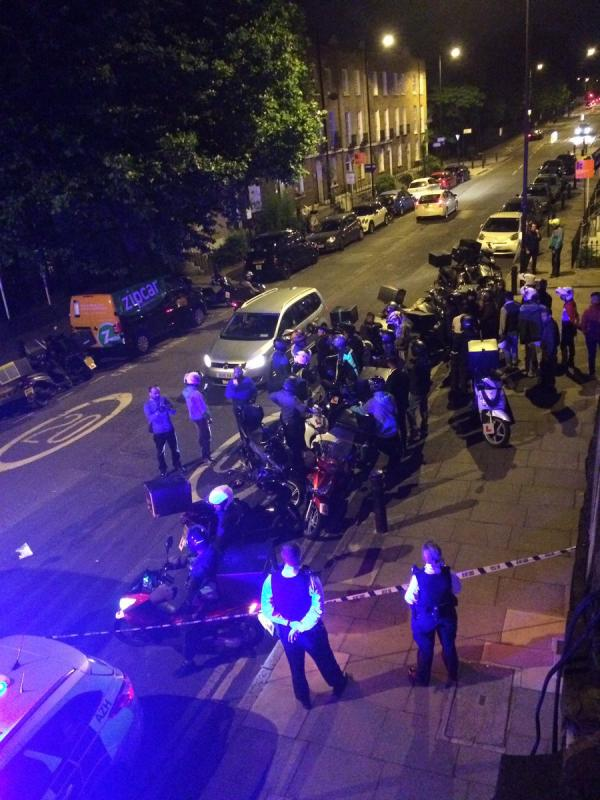 Scooter riders targeted in series of London acid attacks