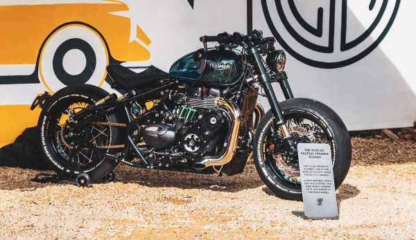 World's Fastest Triumph Bobber takes to the dragstrip