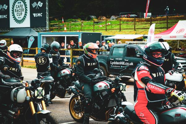 Yamaha XSR700 X-Tribute at the Bikeshed Festival